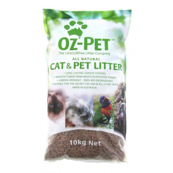 Oz Pet All Natural Cat Litter - 2 & 10kgs