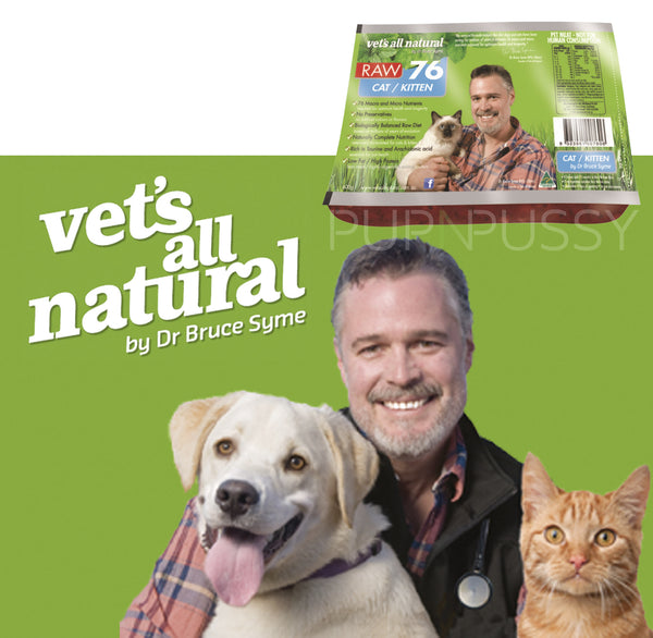 Raw 76 Cats Vet's All Natural