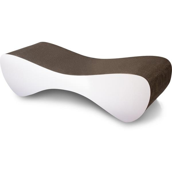 Feline Scratcher/Lounge - Walk Thru or Solid - White or Black