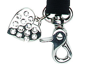 Bling Black Leash
