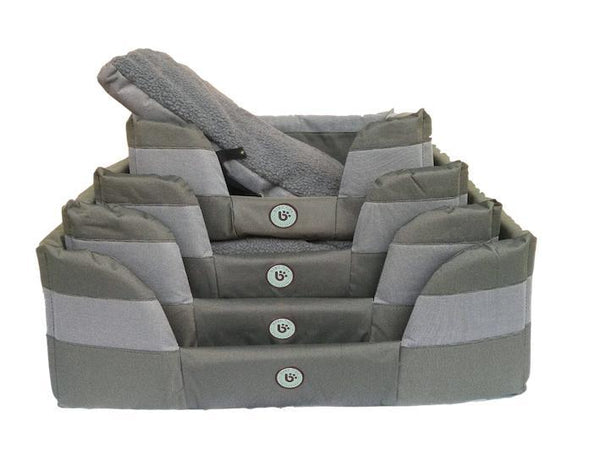 Stay Dry Basket - Grey/Khaki