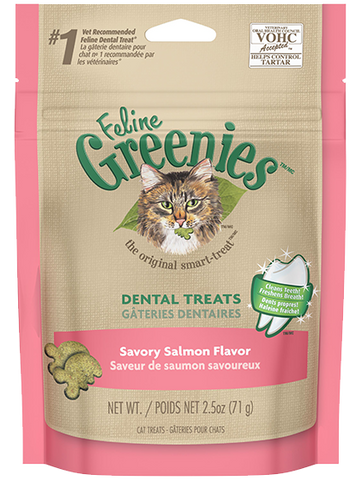 Greenies Savory Salmon Flavour
