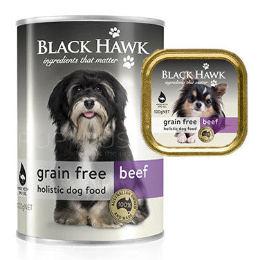 Black Hawk Moist Range Grain Free