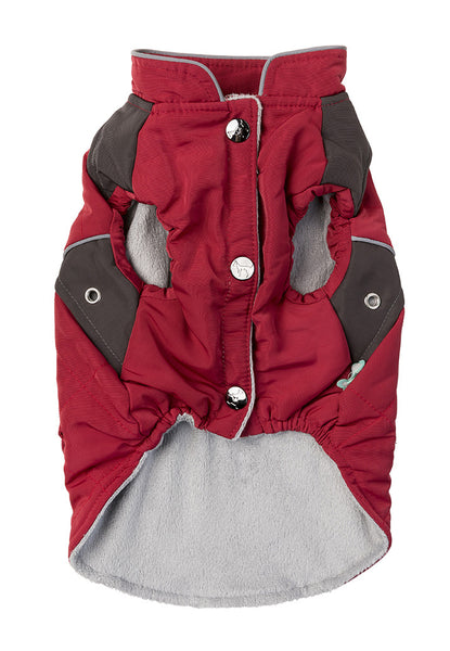 Quilted Adventurer Jacket - Red