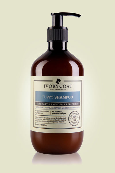 Ivory Coat Puppy Shampoo