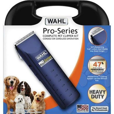 Wahl Pro Series Cord/Cordless Dog Clipper Kit