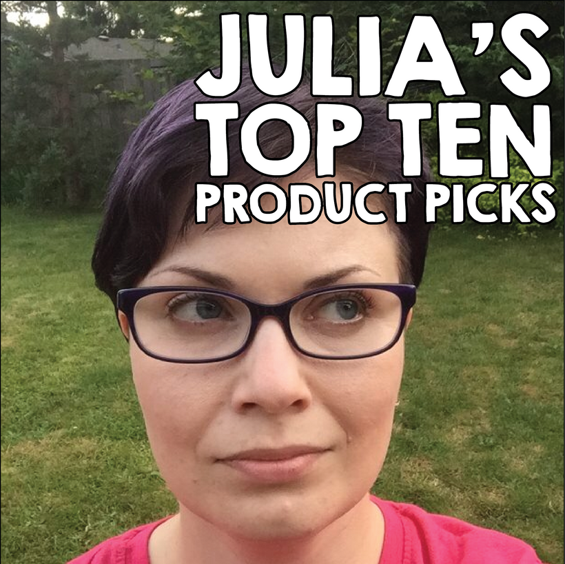 Julia's Top Ten
