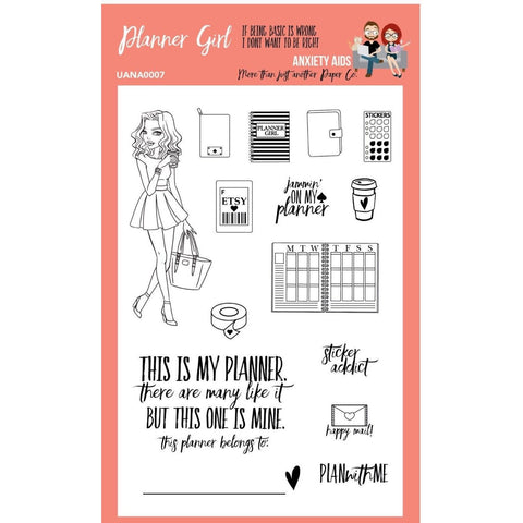 Planner Girl clear photopolymer Planner Stamp Set