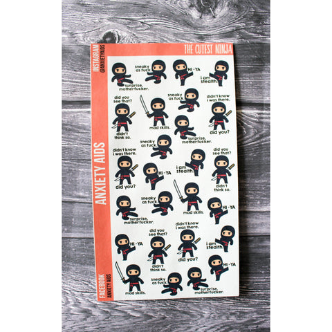 The Cutest Ninja Stickers