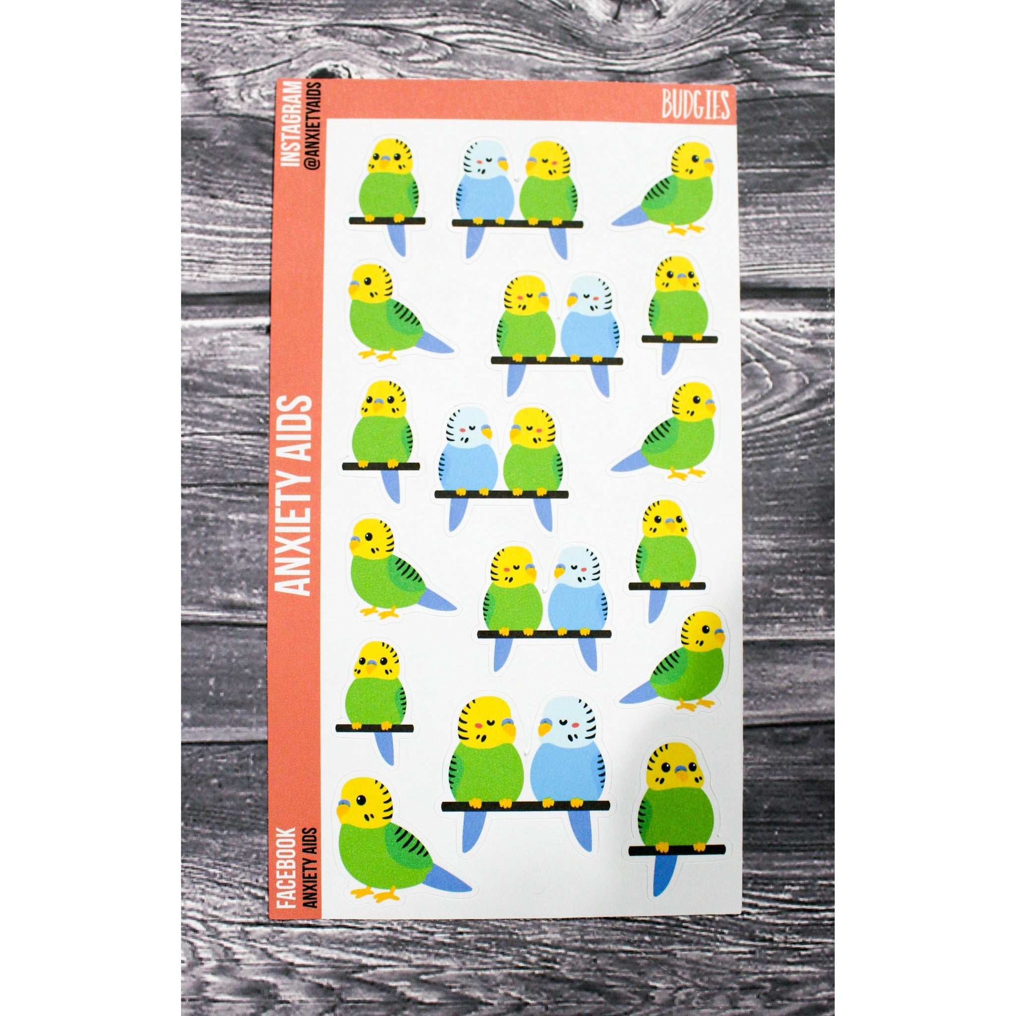 Budgies Stickers