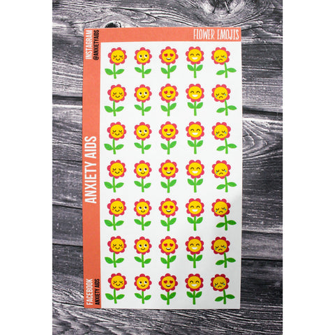 Flower Emoji Stickers