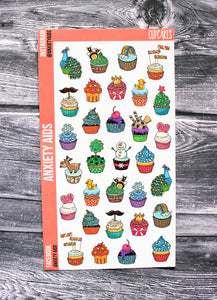 Cupcakes Stickers