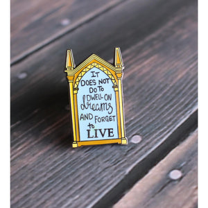 Mirror of Dreams Hard Enamel Lapel Pin - LE HP Inspired Pin