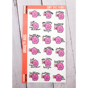 Lumpy Space Planner Stickers
