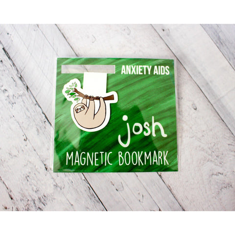 Josh the Sloth Magnetic Bookmark