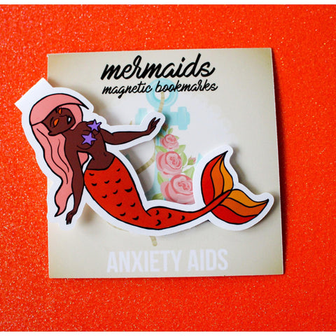Angie Magnetic Bookmark - Mermaids 2016