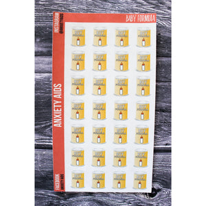 Baby Formula Planner Stickers