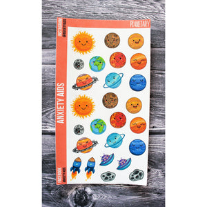 Planetary Planner Stickers