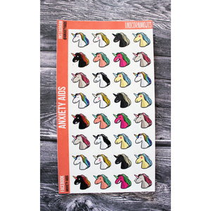 Unicornmoji Planner Stickers