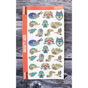 Woodimals Planner Stickers