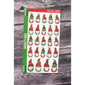Christmas Gnomes Planner Stickers