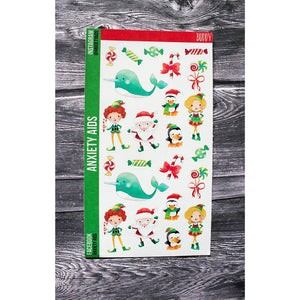 Elf Buddy Christmas Planner Stickers