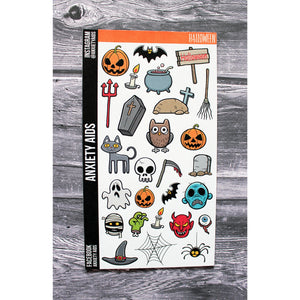 Halloween Decorative Planner Stickers