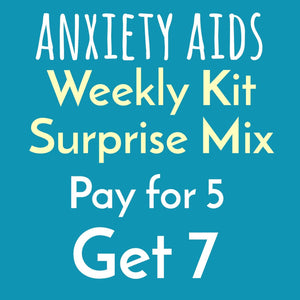 Weekly Kit Surprise Bundle - mystery mix weekly decorating planner sticker kits - buy 5 get 7 - Anxiety Aids
