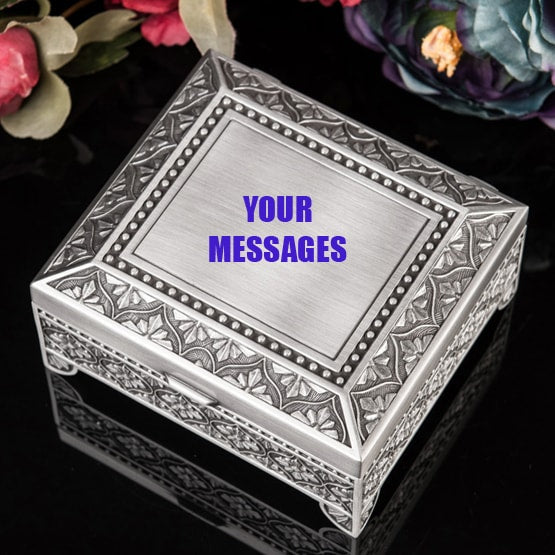 Customized Jewelry Boxes Personalized Jewellery Storage Cases