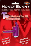 Honey Bunny Vibrating Ring (Purple)