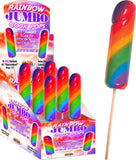 Jumbo Rainbow Cock Pops (6 X Display)
