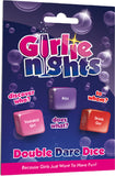 Girlie Nights Double Dare Dice