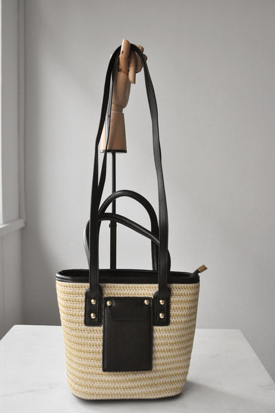 Two Way Weaving Handbag (Pre Order)