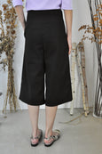 Patch Pockets Midi Culottes