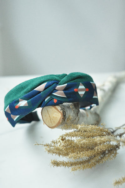Geometric Patterns Knot Hairband
