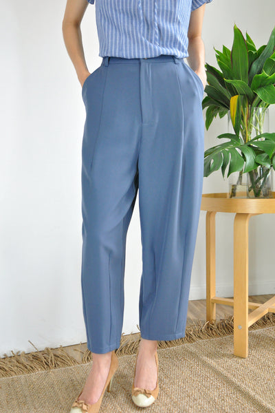 Darts Tapered Ankle Pants