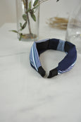 Contrast Stripes Knot Hairband