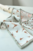 Duo-Sided Garden Prints Scarf
