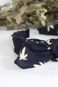 Detachable Bow Leaf Motif Hairband