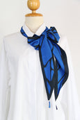 Cracked Patches Tassel Scarf