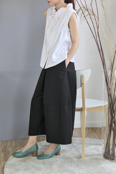 Inverted Box Pleat Culottes