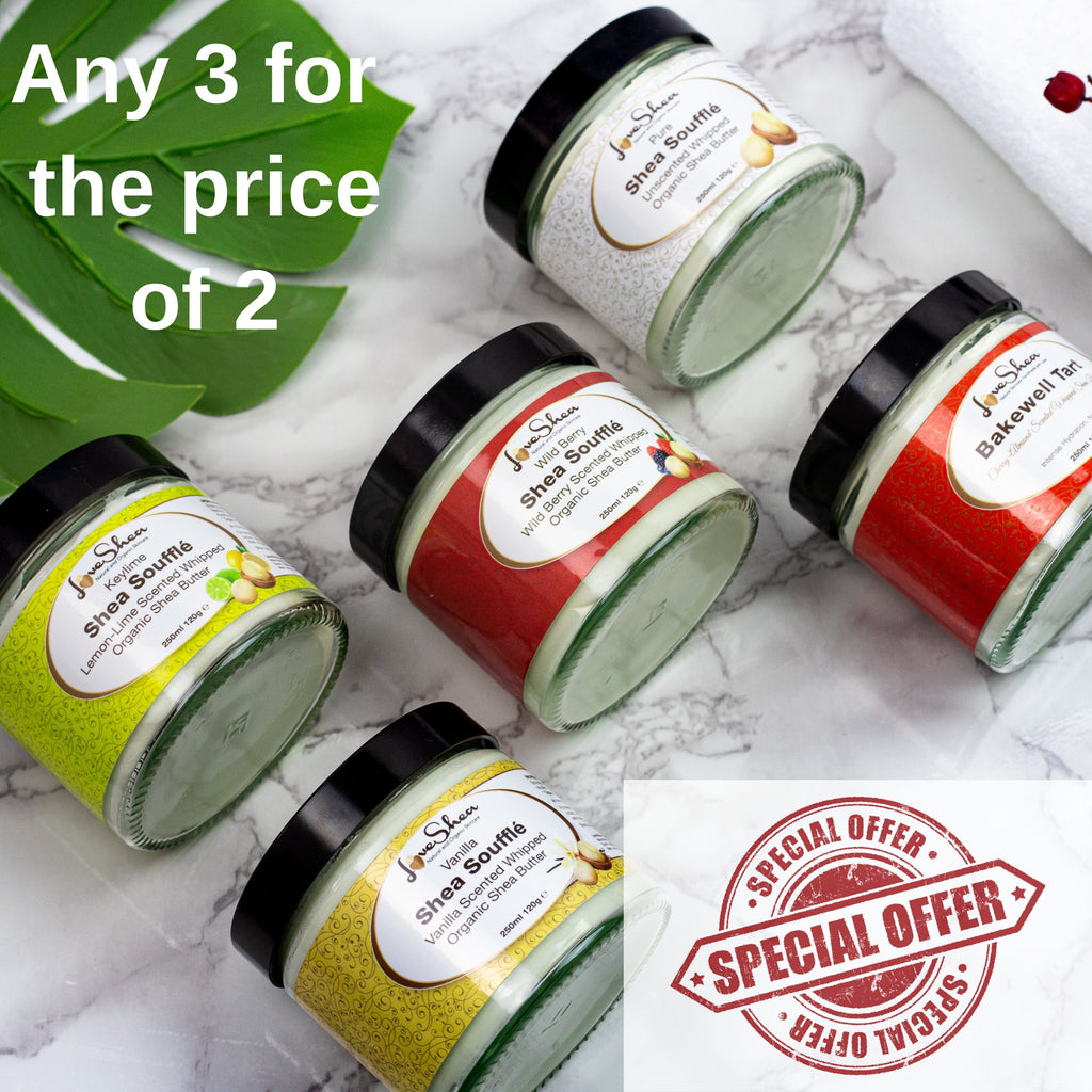 120g Shea Souffles 3 for 2! - LoveShea Skincare