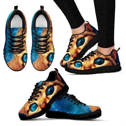 Cat eyes Women's Sneakers - Now 50% OFF
