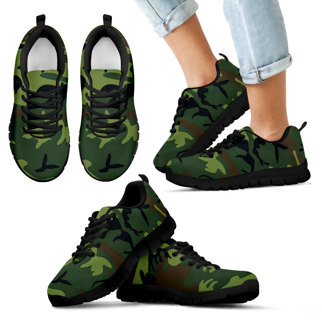 Kids Sneakers - Camo - Now 50% OFF