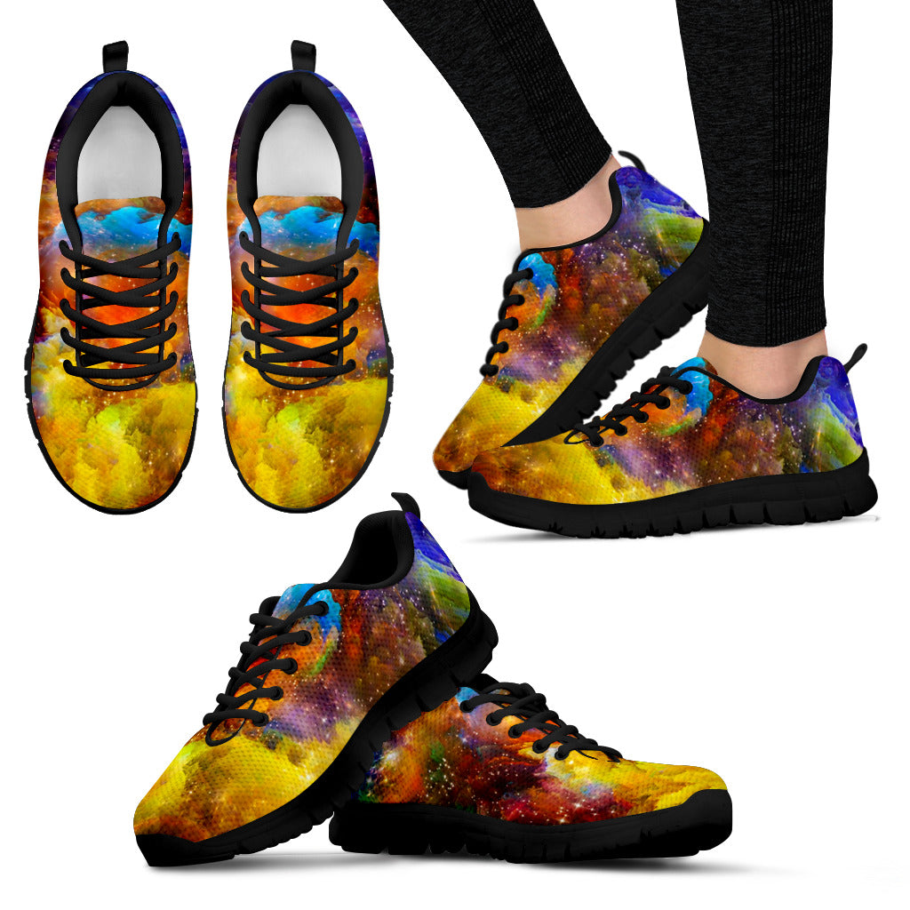 Multi-Color Women's Sneakers - Now 50% OFF