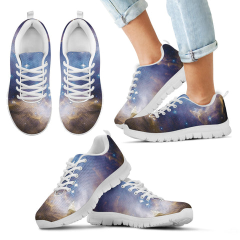 Kid's Sneakers Galaxy in Motion (White Soles) - Now 50% OFF
