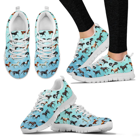 Horse Women's Sneakers - Now 50% OFF