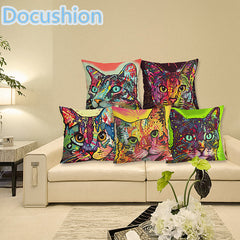 CAT SERIES DECOR PILLOW COVERS