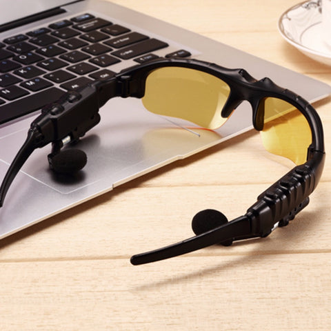 BLUETOOTH WIRELESS HEADPHONE SUNGLASSES - NOW 50% OFF