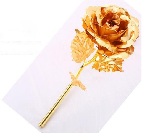 24k Gold Foil Rose - With Box & Different Colors - Black Friday Week - SAVE 75% + FREE SHIPPING